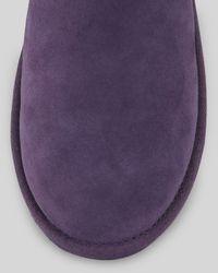 UGG Josette Leather Bowband Boot Purple
