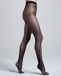 Wolford Black Satin Touch 20 Tights