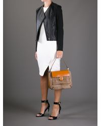 chloe leather travel tote