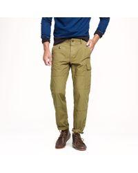 J.Crew Green Wallace Barnes Cargo Pant for men