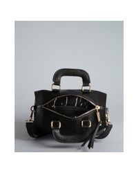 Kelsi Dagger Brooklyn - Black Pebbled Leather Izzy Convertible Satchel - Lyst