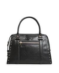 Mango | Black Studded Tote Bag | Lyst