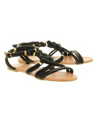 Office - Black Conga Sandal - Lyst