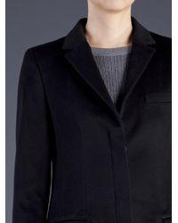 Reed Krakoff | Black Single Breasted Coat | Lyst
