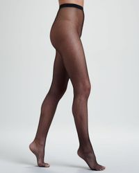 Wolford | Black Twenties Fishnet Tights | Lyst