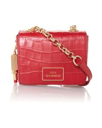 Lulu Guinness Verity Small Red Crossbody Bag
