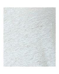 Acne Studios Green Copy Linen T-shirt