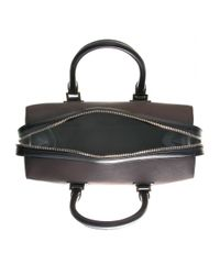 Victoria Beckham Brown Eastwest Victoria Leather Tote