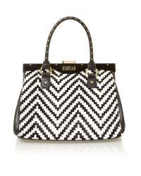 Biba White Aurelia Frame Bag