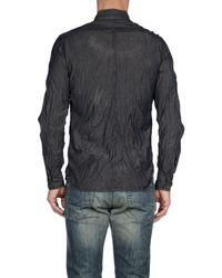 DIESEL - Blue Shirts for Men - Lyst