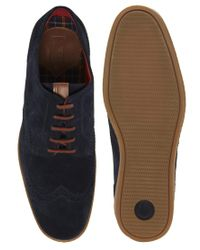 Fred Perry - Blue Jacobs Brogues for Men - Lyst