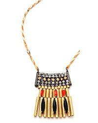 Iosselliani - Red Brass Pendant Necklace - Lyst