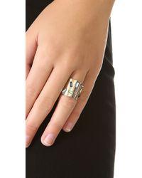 Kelly Wearstler | Metallic Carlton Ring | Lyst