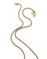 Kenneth Jay Lane - Green Elephant Necklace - Lyst