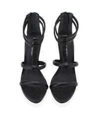 KG by Kurt Geiger Black Hilly High Heel Sandals
