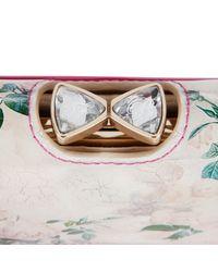Ted Baker Pink Rayann Romantic Framed Matinee Purse