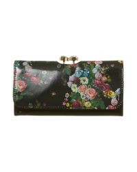 Ted Baker Multicolor Oil Blossom Multi coloured Flap Over Purse