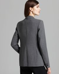 Theory Gray Suit Jacket Dancey Reedly 1