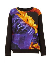 TOPSHOP Multicolor Classic Sweater By Illustrated People