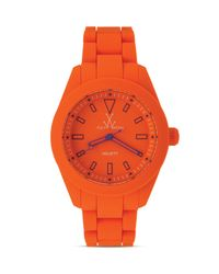 Toy Watch - Orange Velvety Only Time Watch 41mm - Lyst