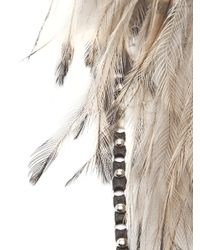 Clemmie Watson - Multicolor Feather Halter Necklace - Lyst