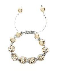 Coast | Metallic Fern Bracelet | Lyst