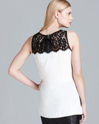 Karen Kane   Black Turkish Lace Top   Lyst