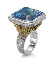 Theo Fennell Blue Under The Sea Ring