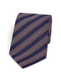Paul Smith - Multicolor Silk Cotton 8cm Blade Tie for Men - Lyst