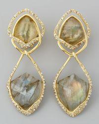 Alexis Bittar | Metallic Orbiting Labradorite Clip Earrings | Lyst