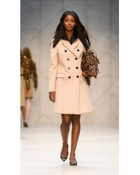 Burberry Brown The Big Crush in Animal Print with Fringed Eyelets