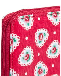 Cath Kidston Red Sweetheart Zipped Travel Purse