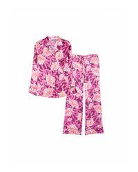Equipment Purple Avery Pajama Set