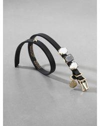 Patrizia Pepe | Black Bracelet | Lyst