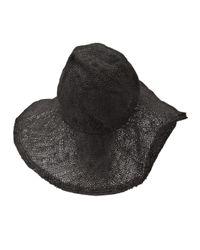 Reinhard Plank Black Donna Juta Hat