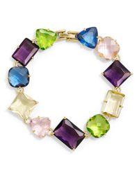 Brooks Brothers - Multicolor Multi Crystal Bracelet - Lyst