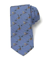 Brooks Brothers | Blue Audubon Finch Tie for Men | Lyst