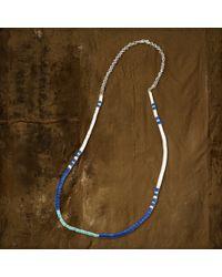 Denim & Supply Ralph Lauren - Blue Beaded Necklace - Lyst