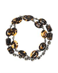 'S Max Mara - Gray Koben Necklace - Lyst