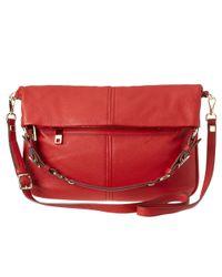 Nine West - Red Nolita Leather Hobo - Lyst