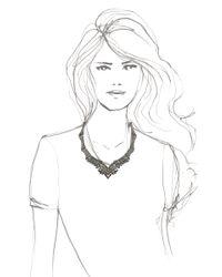 Venyx   Metallic Lady Caiman Black Necklace   Lyst