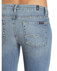 7 For All Mankind Blue Kimmie Bootcut Jean