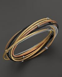 Charriol | Multicolor Classique 10 Row Bangle | Lyst