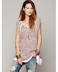 Free People Brown Fp New Romantics Second Chance Sweater