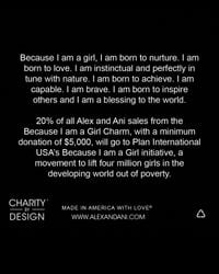 ALEX AND ANI - Metallic Because I Am A Girl Expandable Wire Bangle, Charity By Design Collection - Lyst