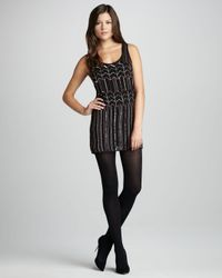 Heartloom Black Natalie Beaded Dress