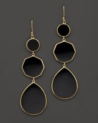 Ippolita - Multicolor 18k Gold Polished Rock Candy Crazy 8's Earrings In Black Onyx - Lyst