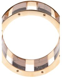 Lele Sadoughi - Black Tall Stackable Bangle - Lyst
