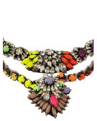 Shourouk - Multicolor Cora Zambia Necklace - Lyst