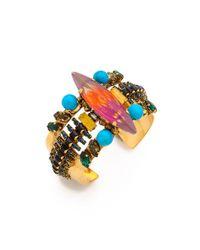Erickson Beamon - Metallic Aquarella Do Brasil Cuff Bracelet - Lyst